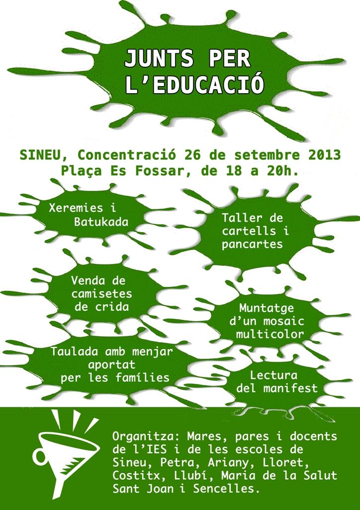 concentració Sineu 26_09_13