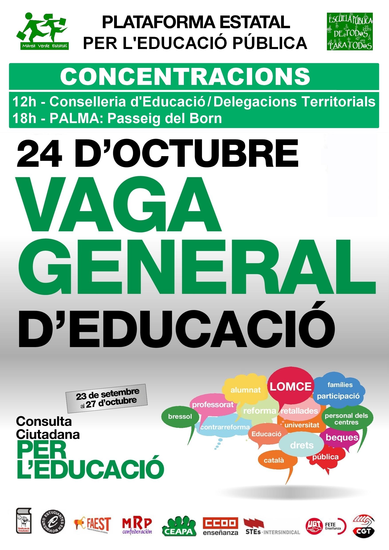 Vaga general d'educació (24-10-13)