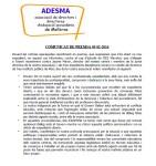 adesma_comunicat