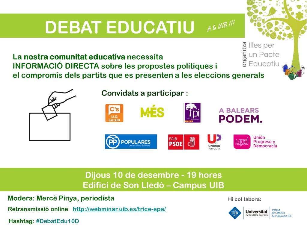 Cartell DebatEdu10D