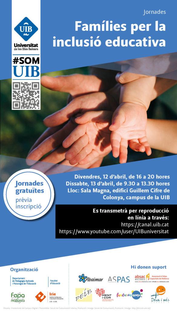 Jornades Families x la inclusio - cartell
